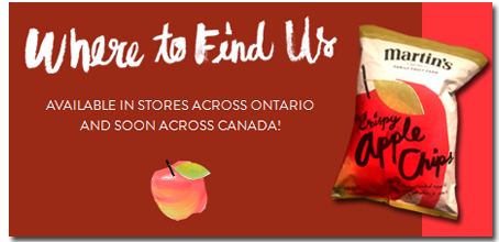 Where to Find Martins Apple Chips