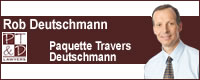 Paquette Travers & Deutschmann, Personal Injury & Disability Lawyers Logo
