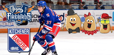 Rangers Lose BUT Fans Make Up For It In SPUDS On Don Cameron Potato Night.