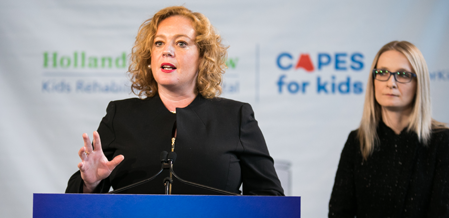 Minister Lisa MacLeod: Funding Will Clear Waitlist