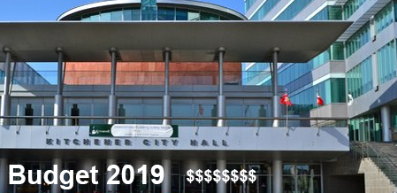 Kitchener City Council Approves The 2019 budget