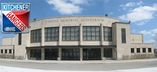 The AUD Kitchener Memorial Auditorium Home of The Rangers - On KW Now Media
