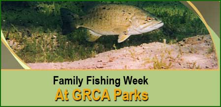 It's Family Fishing Week At Select GRCA Area Parks