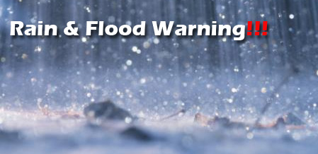 GRCA Weather Alert:Threats Of Urban Flooding, Dangerous Conditions