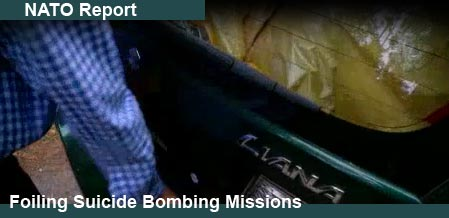 NATO Reports New Secret Weapon Which Will Foil Suicide Bombers - See Video