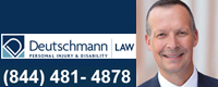 Deutschmann Law, Personal Injury & Disability Lawyersm logo