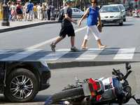 Pedestrians And Motorcyclists Are Most Likely To Die Or Be Catastrophically Injured In An Accident