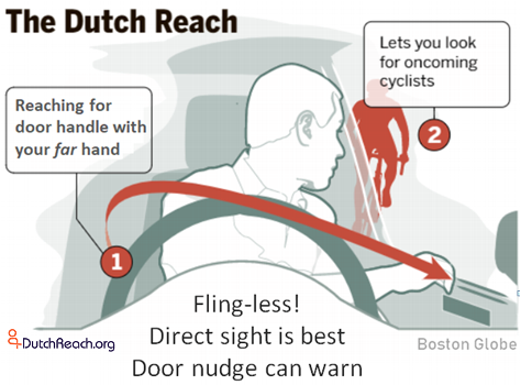 Dooring can injure or kill cyclists - Fines quadrupled in B.C. for 'dooring' cyclists