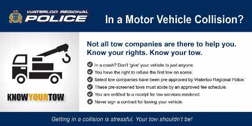 """Know your rights. Know your tow."" – Great Advice In a Car Accident"