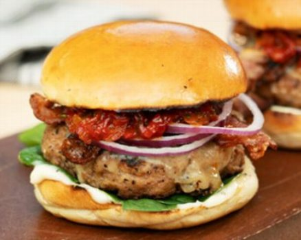Scrumptious Turkey Burger