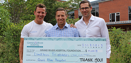 Local Tri-Athletes Launch Go Fund Me Campaign For GRH Foundation