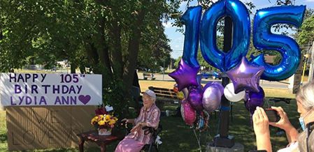 At 105 years old, Area Woman Lydia Bauman Is Still Counting Her Blessings