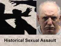 Historical sexual assault arrest and public safety announcement