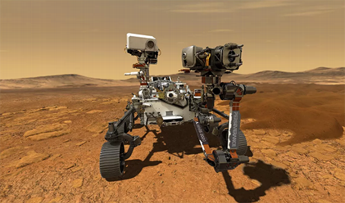 Preparing to Land Perseverance Rover on Mars